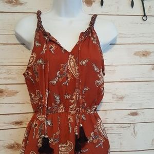 NWOT Sleeveless XS bohemian summer dress
